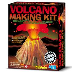 Why not let your 9 year old girl make this volcano and watch it erupt!!! This gift is great fun for all to watch.
