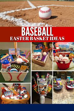 Baseball Easter Basket Ideas: Fill your players Easter basket with all their baseball season needs! basket ideas cricut Baseball Easter Basket Ideas - A Grande Life Easter Gifts For Kids, Easter Crafts, Diy For Kids, Happy Easter, Baseball Gift Basket, Homemade Easter Baskets, Boys Easter Basket, Easter 2020, Easter Party