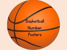 Here is a large full page set of basketball number cposters 0-100 that can be used at the beginning of the school year or anytime.