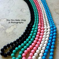 BPA Free Non Toxic Food Grade Silicon Teething Necklace from Yiru Yiru Baby Shop Toxic Foods, Sock Animals, Wet Bag, Teething Necklace, First Daughter, Indie Brands, Baby Shop, Headbands, Turquoise Necklace