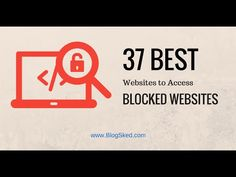 Best proxy site access blocked websites best proxy site pinterest how to unblock blocked sites with these 37 free proxy sites in 2016 ccuart Gallery