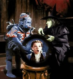 Wicked Witch of The West and Winged monkey
