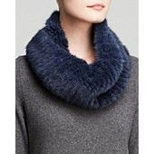 Maximilian Knitted Mink Infinity Scarf