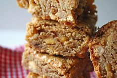 Butter Toffee Blondies