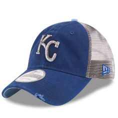 new style 1f653 3ff01 Kansas City Royals New Era Team Rustic 9TWENTY Snapback Adjustable Hat -  Royal