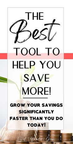Looking for effective ways to make sure you are hitting your savings goals? This post provides the best ideas for saving money so that you can change your finances today! Ways To Save Money, How To Get Money, Money Tips, Money Saving Tips, High Interest Savings Account, Financial Planner, Financial Goals, Small Business Accounting, Monthly Budget
