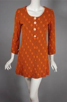 Betsey Johnson for Paraphernalia mini dress c.1969