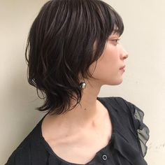 Short Choppy Hair, Short Bob Hairstyles, Pretty Hairstyles, Short Hair Cuts, Haircuts, Medium Hair Cuts, Medium Hair Styles, Short Hair Styles, Mullet Hairstyle