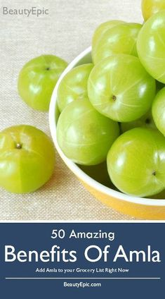 50 Amazing Benefits of Amla: Below you will get to know 50 benefits of Amla. These benefits will encourage you to consume Amla regularly. Gooseberry Recipes, Amla Juice Benefits, Health Benefits, For Your Health, Health And Wellness, Health Tips, Health Goals, Benefits Of Berries, Home Remedies