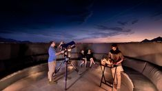 Star gazing at andBeyond Sossusvlei Desert lodge