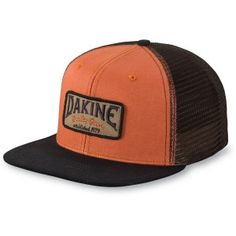 cbd6c5369f9a1 Dakine Archie Trucker Cap - Ginger   Black Skate Hats