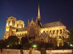 The famous Notre Dame Cathedral! Paris.