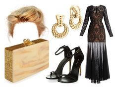 """""""Untitled #2323"""" by nicole-briffa ❤ liked on Polyvore featuring BCBGMAXAZRIA, Edie Parker and John Hardy"""