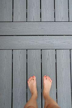 barefoot wood plastic composite deck