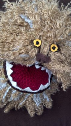 The Dark Crystal's Fizzgig with Pattern! - CROCHET