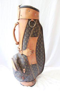 Louis Vuitton Golf Bag #golf #louisvuitton                                                                                                                                                                                 More