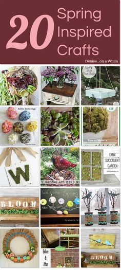 20 Spring Inspired Crafts