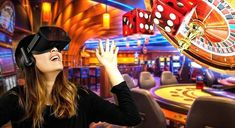Virtual reality games and machines have revolutionized gambling and are taunted to be the future of online casino. Virtual reality involves the use of special display and technology to create authentic virtual space that a player can easily view from all angles.   . . . #Casino #CasinoReviewsNZ #NewZealandCasino #gamble #sportsgambling #bettingpicks #bettingsports #casinogames Best Virtual Reality, Virtual Reality Education, Online Casino Slots, Online Casino Games, Virtual Reality Architecture, Online Roulette, Cloud Infrastructure, Technology World, Sports Betting