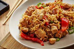 Pyszna sałatka z zupek chińskich