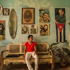 "@mattkphotos with a stunning cultural #camp4pix submission. . ""As I wandered around Havana, I discovered it was really common to get invited into people's homes to have a look. The architecture in Cuba includes a lot large doors that Cubans leave open to get air flowing in and out of their home which means you can often see into their home from the street. That combined with the fact that they are proud people and often found hanging out on their porch meant that they were more than willing…"