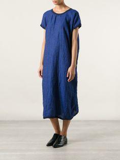 Daniela Gregis boxy chambray dress