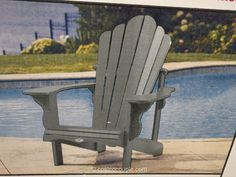Leisure Line Classic Adirondack Chair Costco