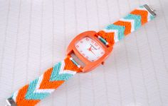 Friendship Bracelet Watch DIY