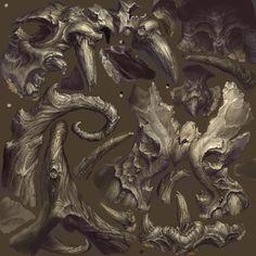 ArtStation - Diablo 3 Desolate Sands, Peet Cooper