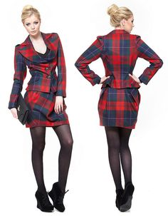 WANT THIS!!!!! Vivienne Westwood Anglomania Tartan Suit by julesblimited, via Flickr