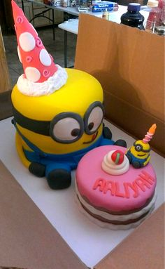 minion cake - Google Search