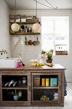 Am I in kitchen heaven? Only there, would this cabinet be.