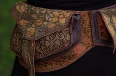 Fairy tea party  Festival Pocket Belt  Utility belt by Sandalamoon, $172.00