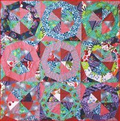 Patchwork Pinwheel Quilt
