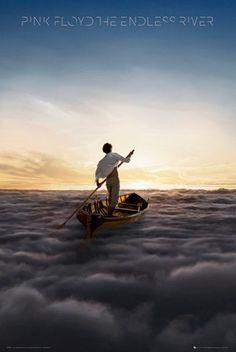 Poster PINK FLOYD - The Endless River - http://rockagogo.com