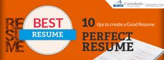 10 tips to create a good resume