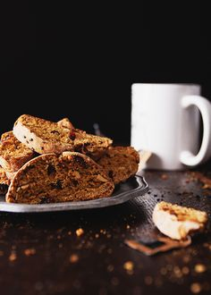 Pumpkin Biscotti with Cranberries and Almonds » The Tart Tart (more traditional, crunchier, less sweet)