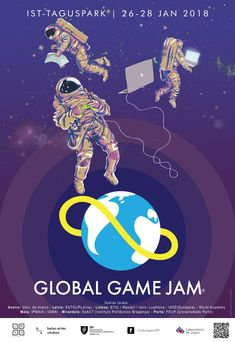 Poster showcase 2018 | Global Game Jam® Poster Creator, Social Media, Games, Creative, Projects, Design, Art, Log Projects, Art Background