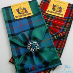 Tartan Mini Sash and Brooch Saver *New* Clearance Sale Scottish Clans Tartans Kilts Crests and Gifts