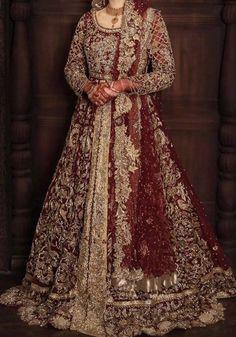 Latest Bridal Dresses, Asian Bridal Dresses, Pakistani Wedding Outfits, Indian Bridal Outfits, Wedding Dresses For Girls, Party Wear Dresses, Pakistani Dresses, Wedding Lehanga, Pakistani Lehenga