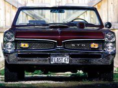 1967 Pontiac GTO Front View