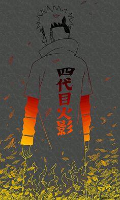 NARUTO - Hokage Minato by shirayuki hotogi Naruto Shippuden Sasuke, Naruto Kakashi, Anime Naruto, Fan Art Naruto, Manga Anime, Gaara, Naruto Wallpaper, Wallpapers Naruto, Wallpaper Naruto Shippuden
