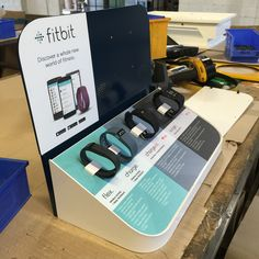 Full Manufacturing Solution for Fitbit POS Displays Pos Display, Counter Display, Watch Display, Display Design, Display Technologies, Smart Technologies, Retail Fixtures, Store Fixtures, Pos Design