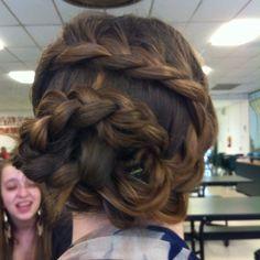 different style of doo doo braid!