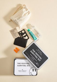A festival survival kit, so you won't get into too much trouble at Coachella. $8.99