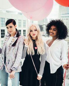 New photoshoot of Dove Cameron, Sofia Carson & China Anne McClain