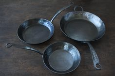 The dream kitchen will need to include these lovely French pans from Blu Skillet in Seattle