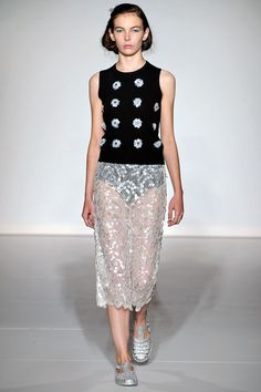 Clements Ribeiro Spring 2013 Ready-to-Wear  London