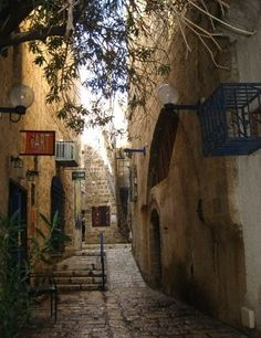 ISRAEL, Jerusalem - I remember running down these streets. Mom was a little nervous, but as a kid you don't think of any danger
