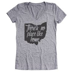 There's No Place Like Home Ohio t-shirt