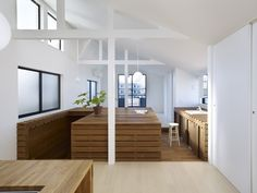 Switch Box in House by Naf Architect & Design, Location Suginami Ward #Tokyo